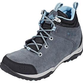 Columbia Fire Venture Mid Waterproof - Chaussures Femme - gris/noir